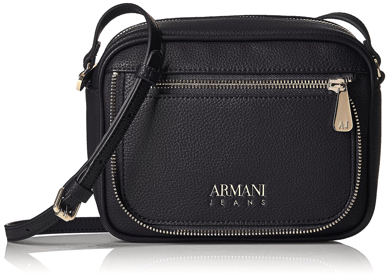 Amazon.com  Armani Jeans Faux Zipper Sling Bag b58cf47840049