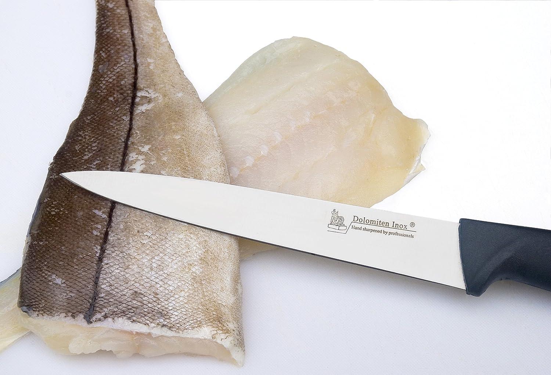 7' FILLETING KNIFE BY DOLOMITEN INOX KSCFIL