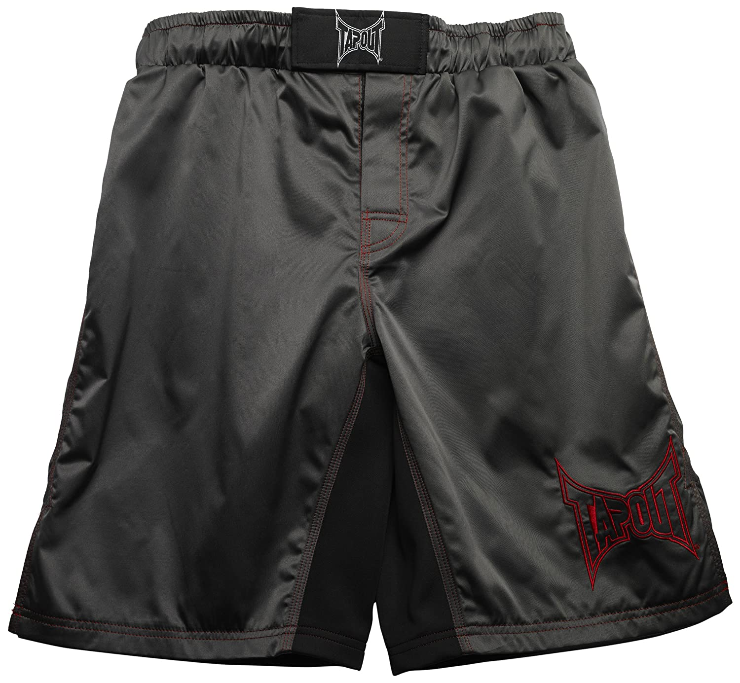 36-Inch Gray TapouT Fight Shorts
