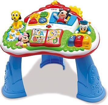 Clementoni - Mesa de actividades - Mickey Mouse, inglés y español ...