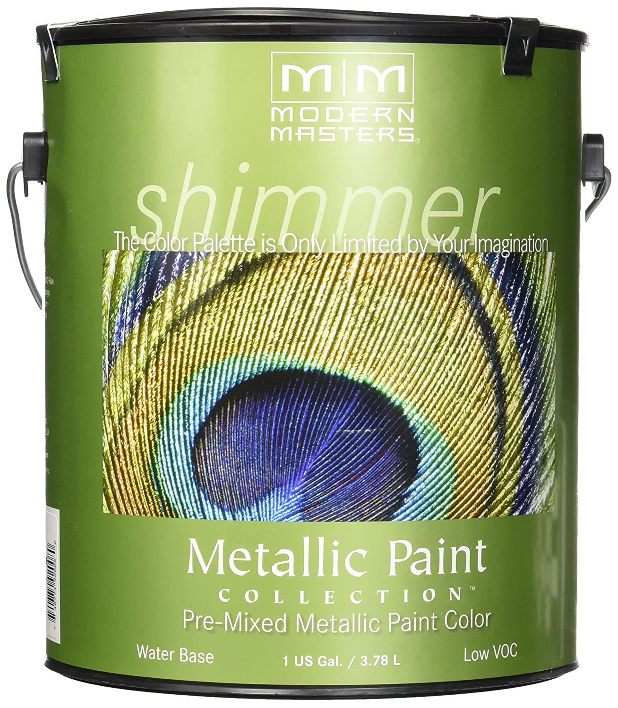 Amazon.com: Modern Masters ME591 Metallic Paint, Platinum: Home ...