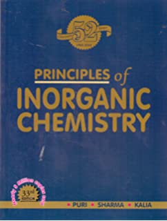 Amazon In Buy Principles Of Inorganic Chemistry Book Online At Low