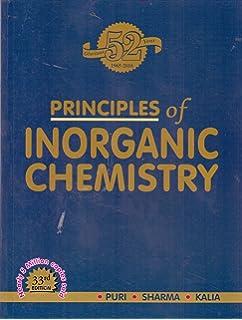Inorganic Chemistry Puri Sharma Kalia Pdf