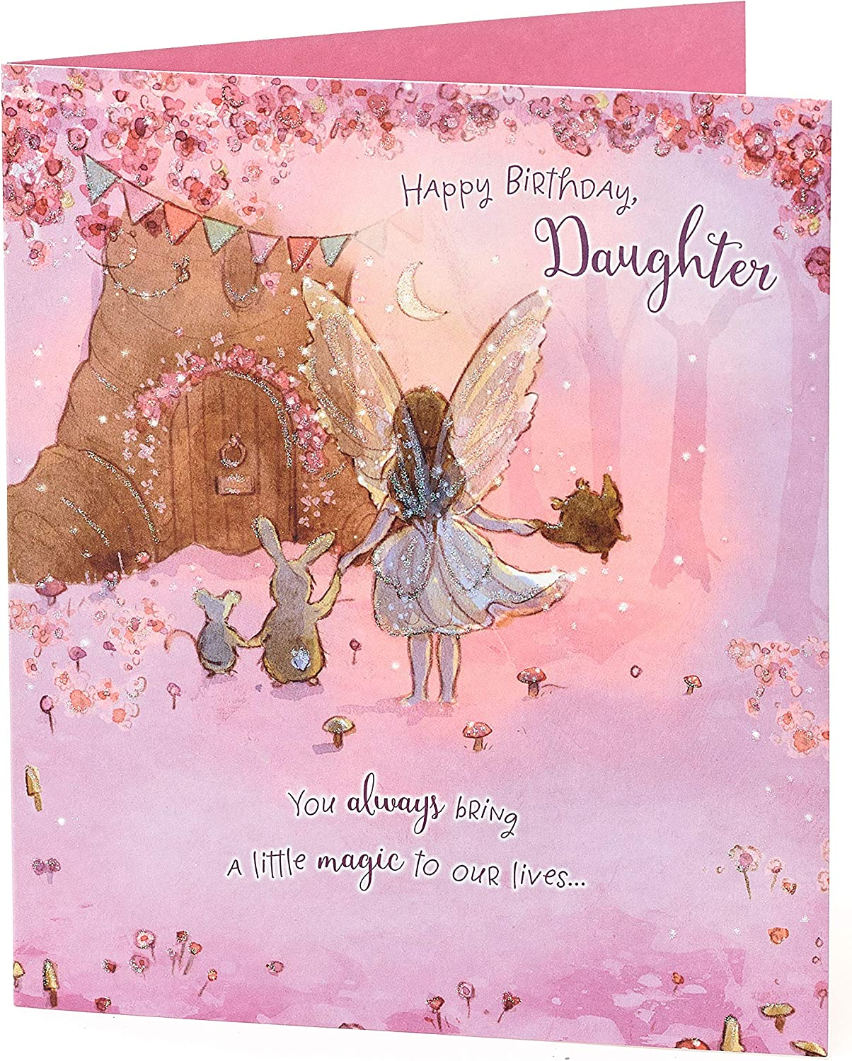 CHILDRENS HAPPY BIRTHDAY CARDS Daughter Funny My Little Fairy Kids Gift Bday