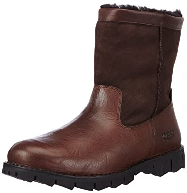 1dba743b506 Amazon.com | UGG Men's Beacon, Obsidian 16 D - Medium | Snow Boots
