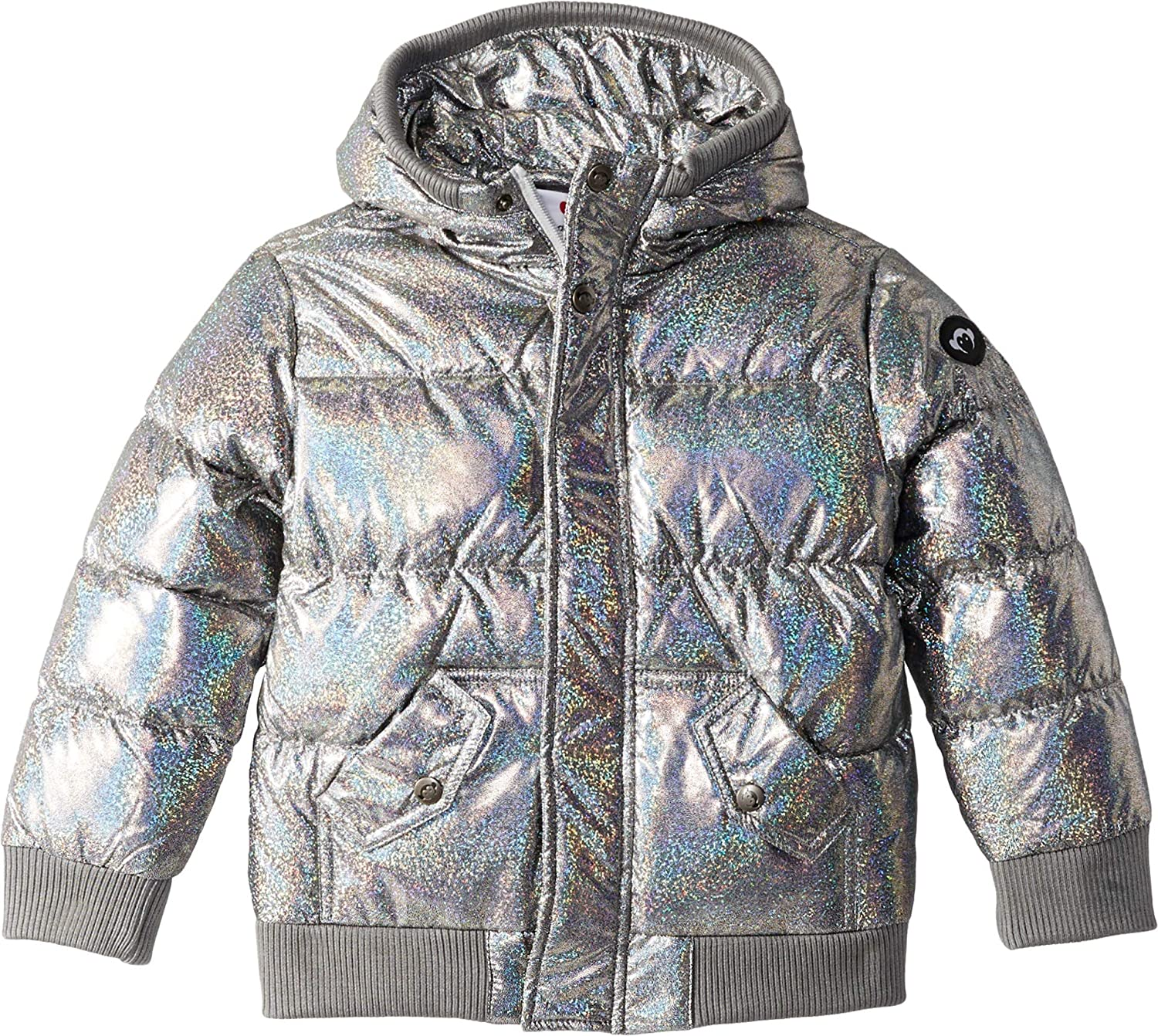 Appaman Kids Womens Puffy Coat with Hood and Front Pockets (Toddler/Little Kids/Big Kids)
