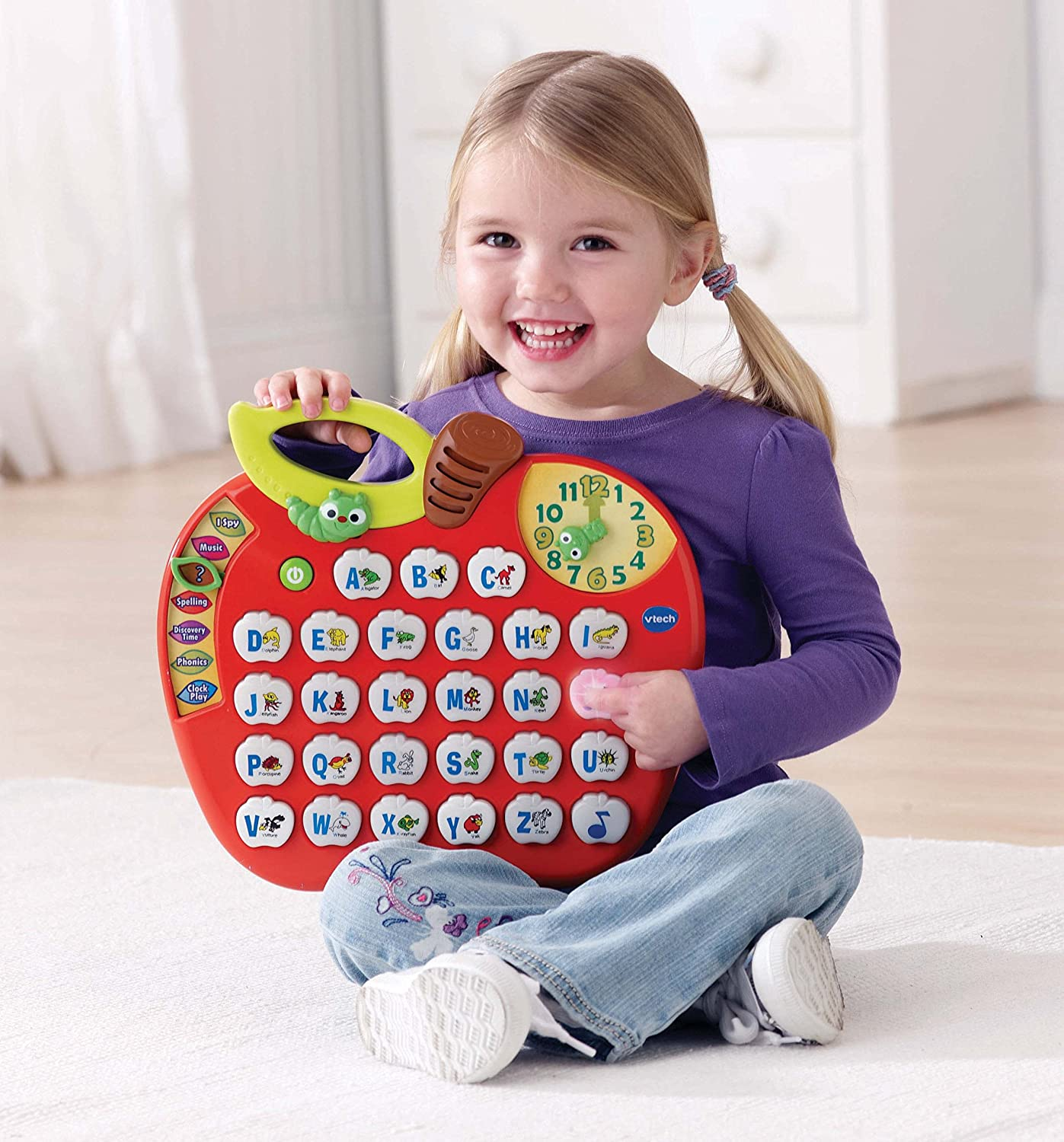 Amazon VTech Alphabet Apple Toys & Games