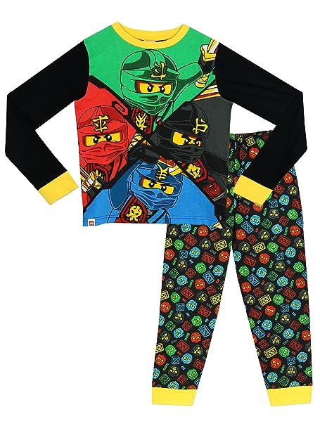 Lego - Pijama para Niños - Lego Ninjago - 10 - 11 Años