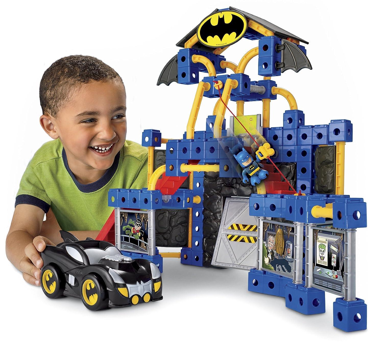 c8ecddbfbc36 Amazon.com  Fisher-Price TRIO DC Super Friends Batcave  Toys   Games