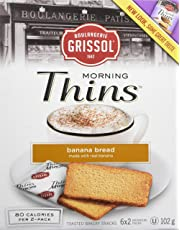 Sweet Thins Boulangerie Grissol Banana Bread (Pack of 12)