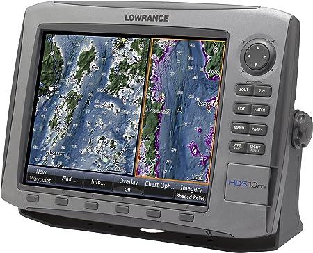 Lowrance HDS-10m - GPS Marino multifunción con Plotter: Amazon.es: Deportes y aire libre