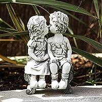 Garden Mile® - Estatua decorativa para jardín, diseño