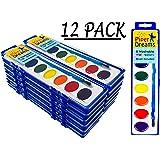 Amazon.com: Crayola Acuarelas, pintura lavable, 8 colores ...