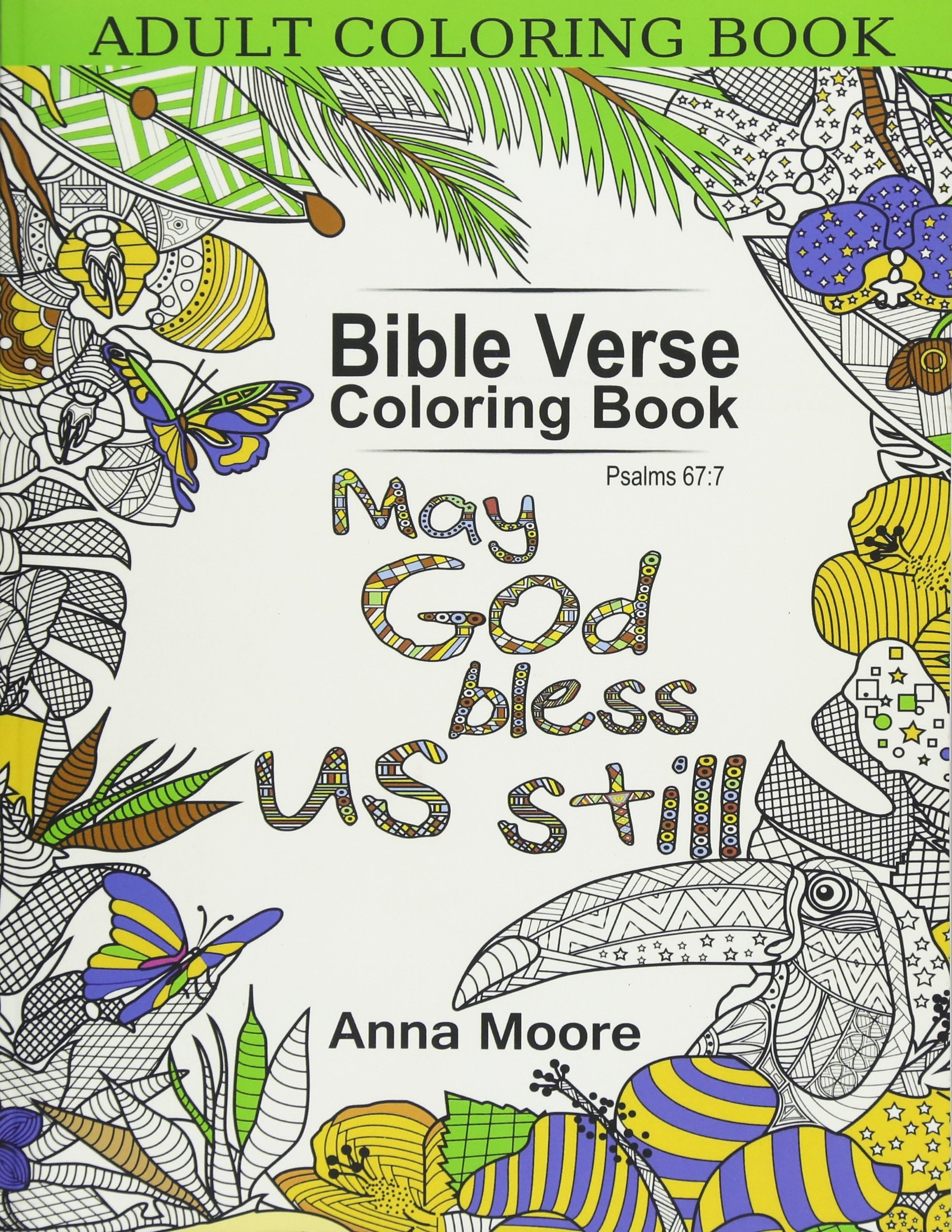Amazon.com: Adult Coloring Book: Bible Verse Coloring Book ...
