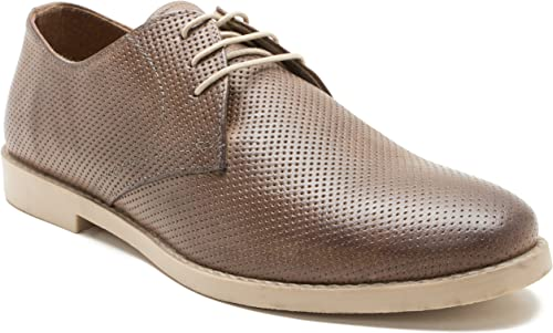 Red Tape Mens Casual Leather Brown