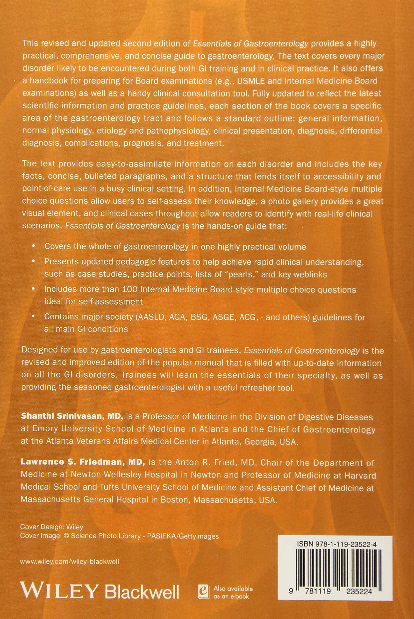 Buy Sitaraman and Friedman′s Essentials of Gastroenterology Book