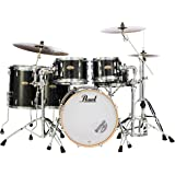 Pearl Session Studio Select Series 5-Piece Shell Pack (Hardware/Cymbals not Included), Black Halo Glitter (STS905XP/C316)