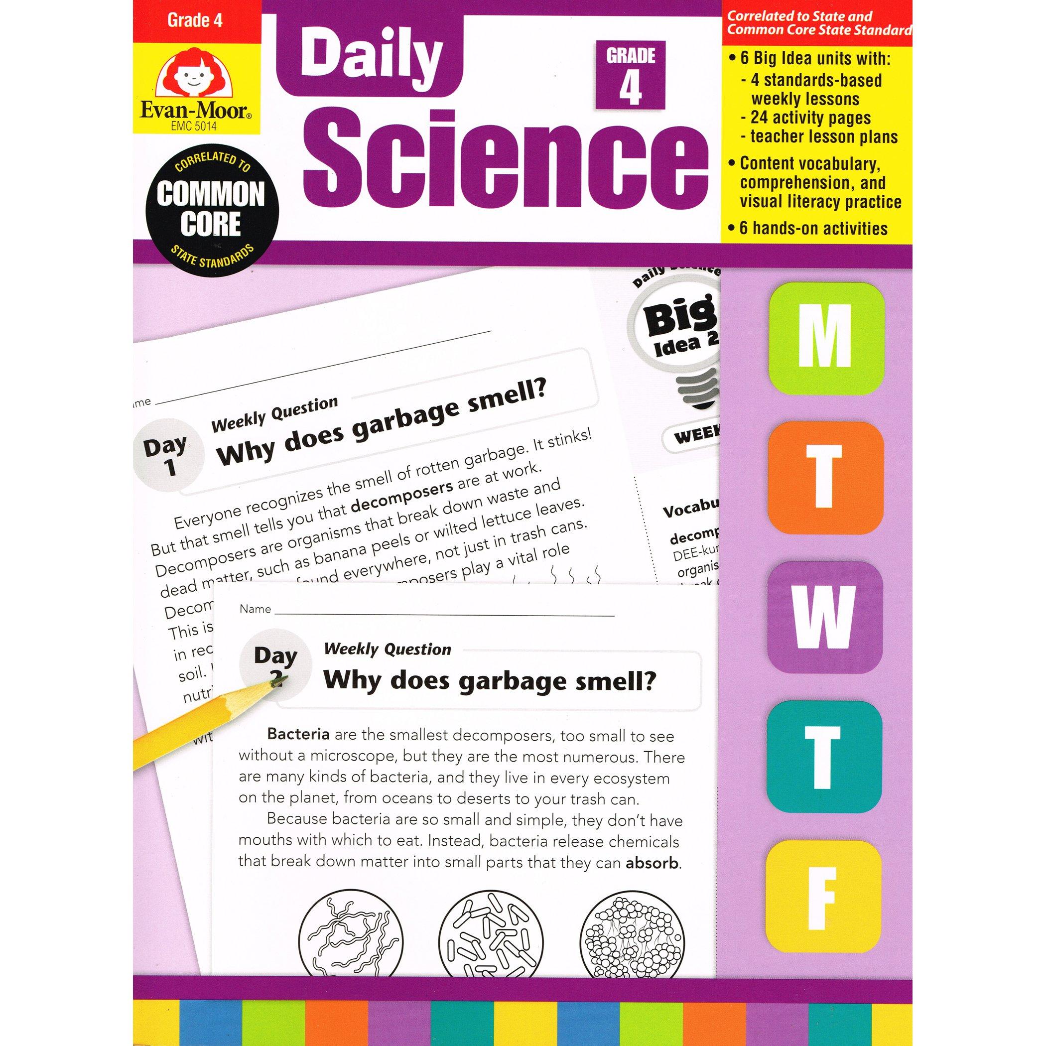 Daily science grade 4 evan moor 0023472050144 amazon books fandeluxe Images
