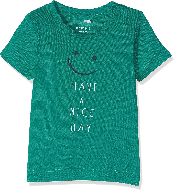 NAME IT Baby-Jungen Nitgerlef Ss Top Box Mznb T-Shirt