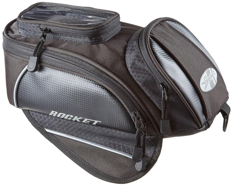 Joe Rocket 559-0800 Manta Black/Carbon 13' x 7.5' x 5' Motorcycle Tank Bag