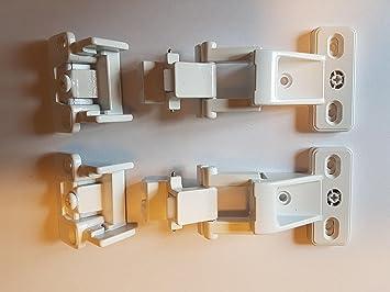 4 x Möbelband Hettich VORWERK Scharnier Topfband Topfscharnier in ...