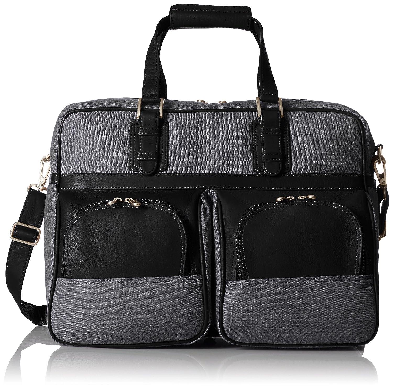 Pielレザーキャリーオンポケット付き、ブラック、ワンサイズ B00PBEHJ6I