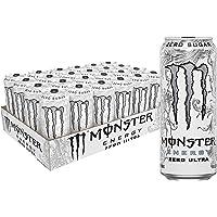 24-Pack Monster Energy Drink Zero Ultra 16-Ounce