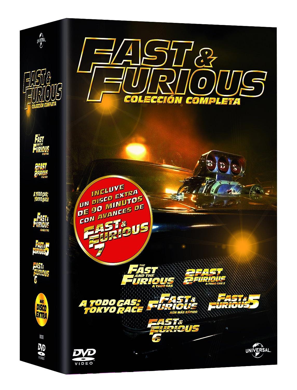 Pack: Fast & Furious 1-6 + Bonus Disc [DVD]: Amazon.es: Paul ...