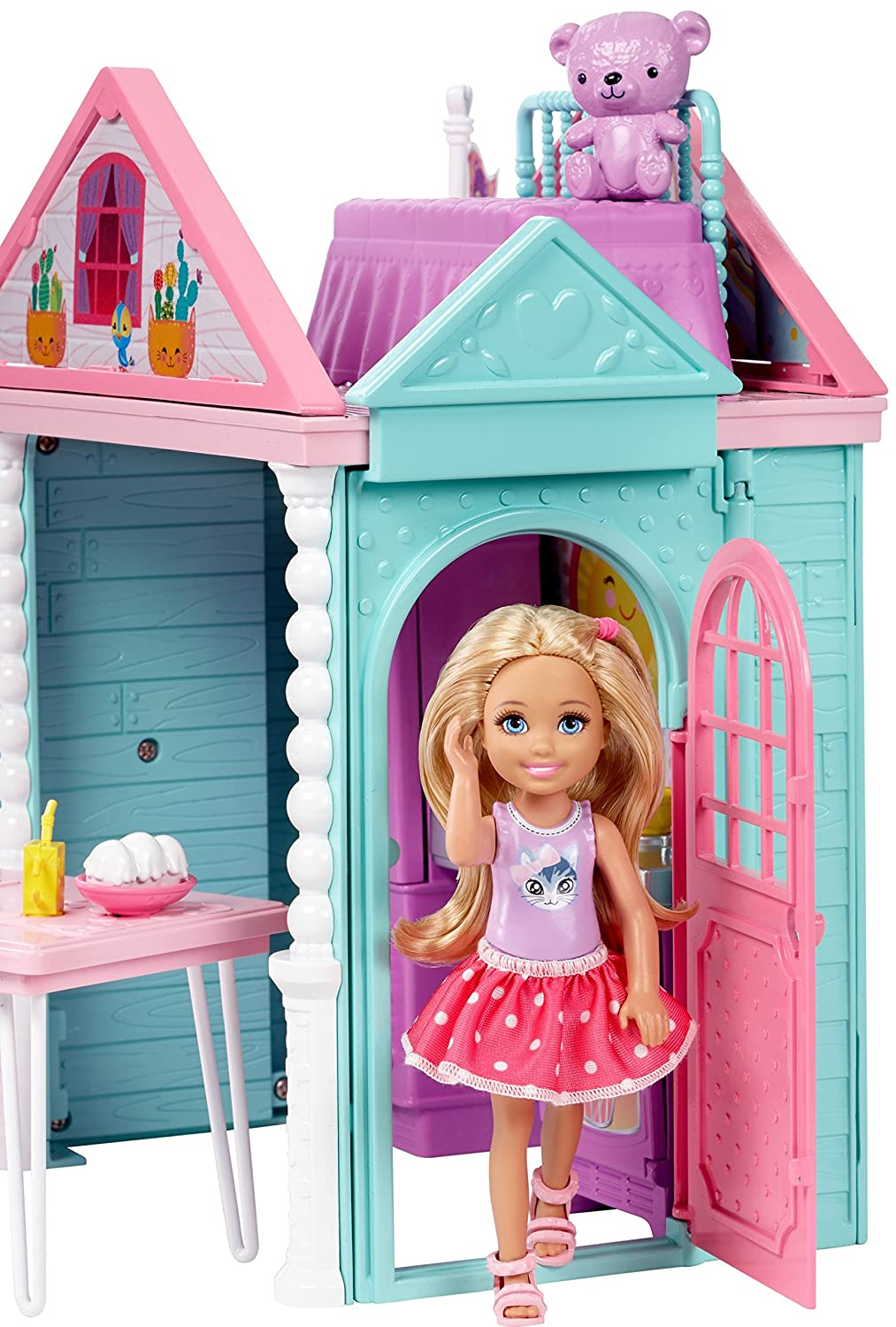 Amazon.com: Barbie Club Chelsea Playhouse Playset: Toys & Games