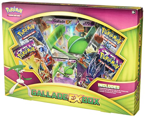 82ca21fd387ae6 Image Unavailable. Image not available for. Color: —Pokemon TCG: Gallade EX  Box Card Game