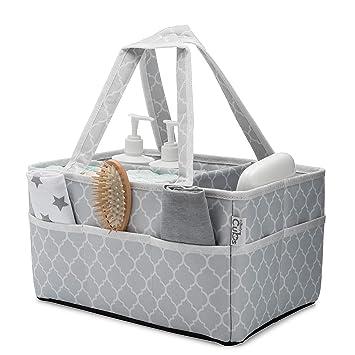 Amazon.com: Cesta para pañales de bebé, bolsa organizadora ...