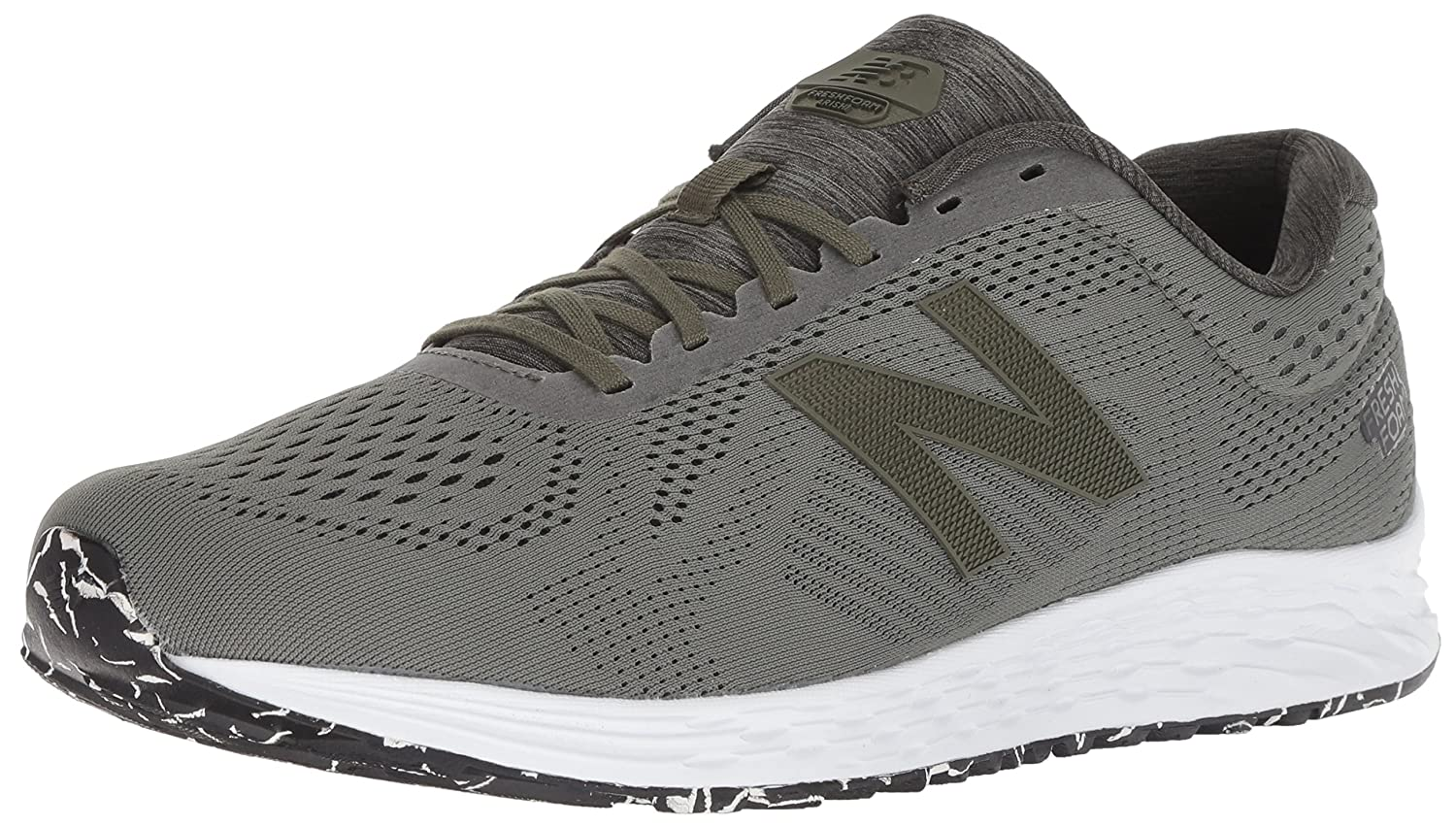 Dark Covert vert noir New Balance Fresh Foam Arishi, Running Homme 41.5 EUR - Width 4E
