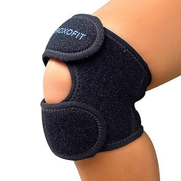 0fa7e442e9 Dual Patella Strap - Best Knee Brace for Osgood Schlatter Chondromalacia  Patella Arthritis Running Meniscus Tear