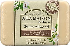 A La Maison De Proven Bar Soap, Sweet Almond - 8oz