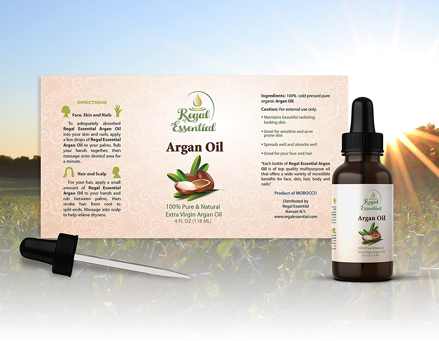 Argan Oil 100 Extra Virgin Moisturizing And Anti Aging Madre Action Natural Skin Hair Care Protects Hands Nails Pure Organic Directly From