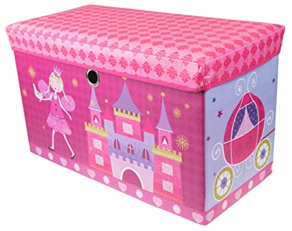 Amazon.com: Fairytale Princess Castle Collapsible Storage Organizer ...