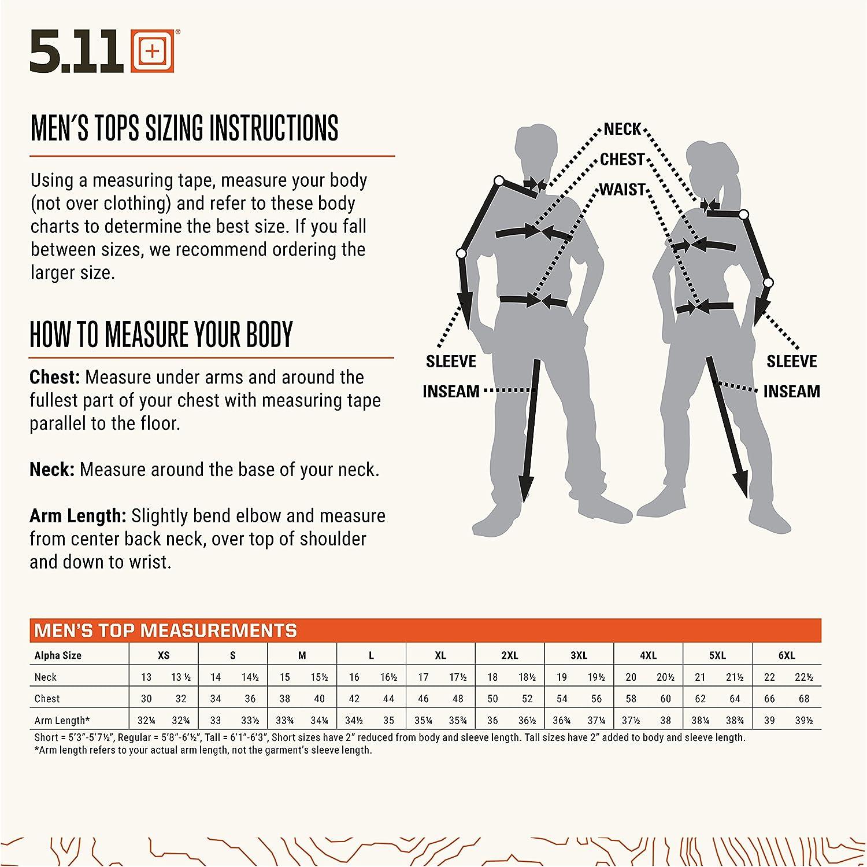 5.11 Tactical Mens Taclite TDU Ripstop Uniform Work Class B Short Sleeve Shirt Style 71168