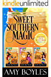 Sweet Southern Magic: Sweet Tea Witch Mysteries Books 1-3 (English Edition)