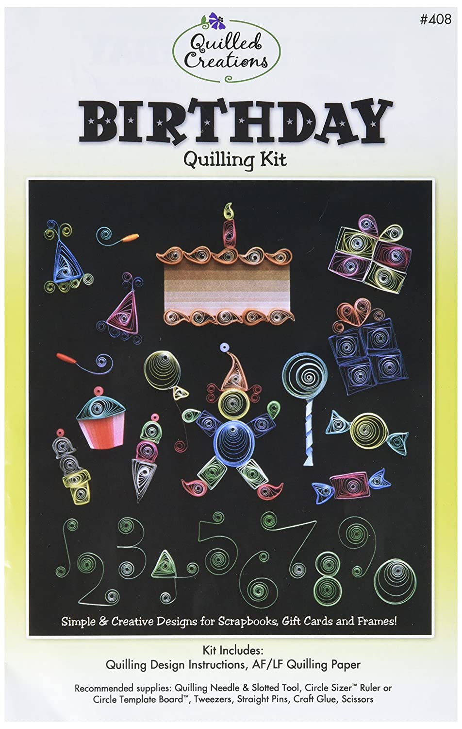 Quilled Creations Q40-1 Quilling Strips Baby Theme Kit