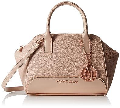 cf637d5ff8a1 ARMANI JEANS Women s Eco Leather Boston Bag Top Handle Handbag