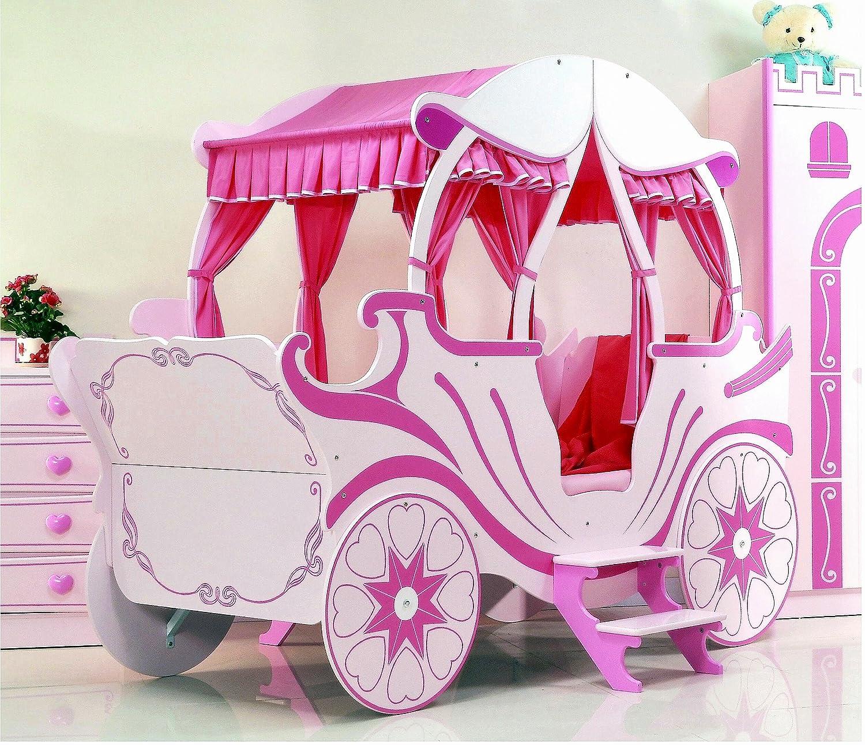 Bett Kutsche Pink Kinderbett Mädchen Und Prinzessin: Amazon.de: Küche U0026  Haushalt