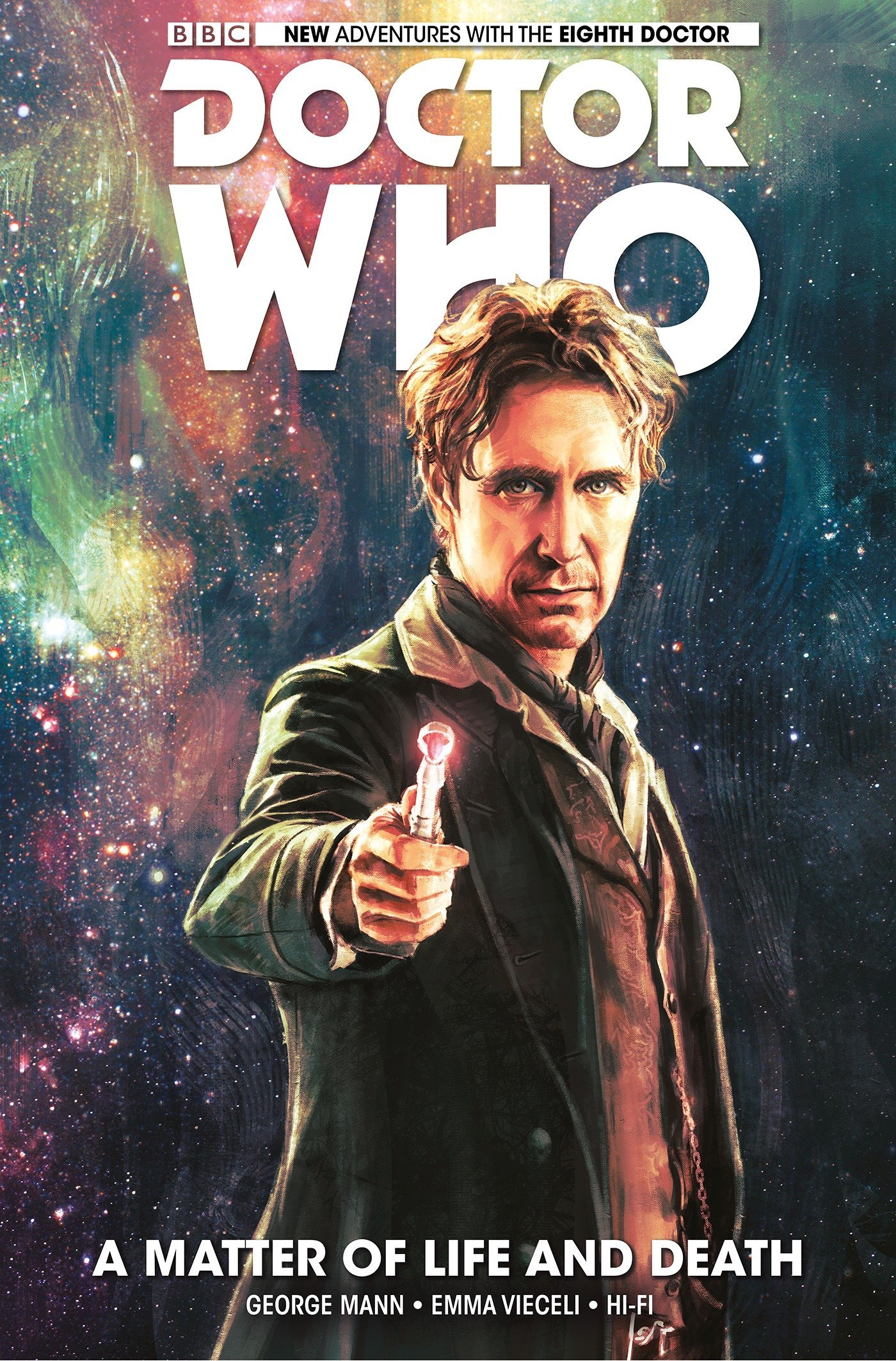Doctor Who: The Eighth Doctor Volume 1 - A Matter of Life and Death PDF