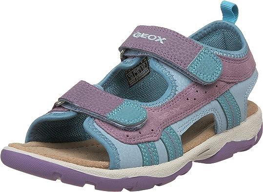 represa Inesperado Simplificar  Amazon.com | Geox Kid's Jr Levante Girl Sandal (Little Kid/Big Kid) |  Sandals