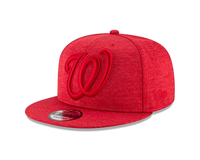 outlet store bdab7 1d666 Amazon.com   New Era Washington Nationals MEGA TONE 9Fifty Snapback  Adjustable MLB Hat - Red   Clothing