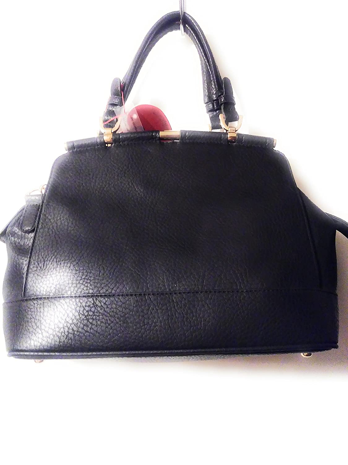 481443af5ca1 Womens Midnight Black Shoulder Hand Bag Purse  Handbags  Amazon.com
