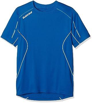 Babolat Match Core Camiseta para Hombre, Hombre, Match Core, Azul, XX-Large: Amazon.es: Deportes y aire libre
