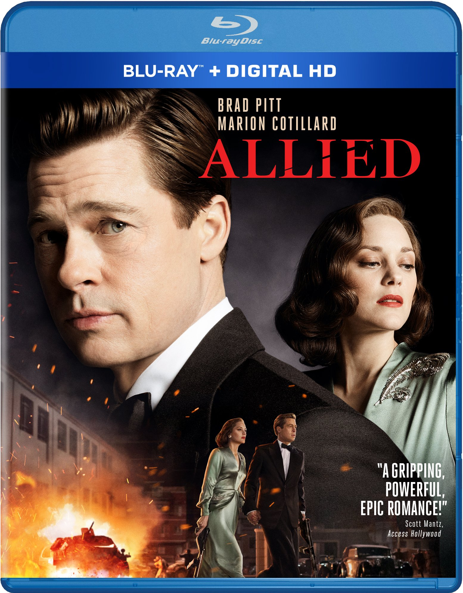 Blu-ray : Allied (AC-3, , Dubbed, Digital Theater System, Digital Copy)