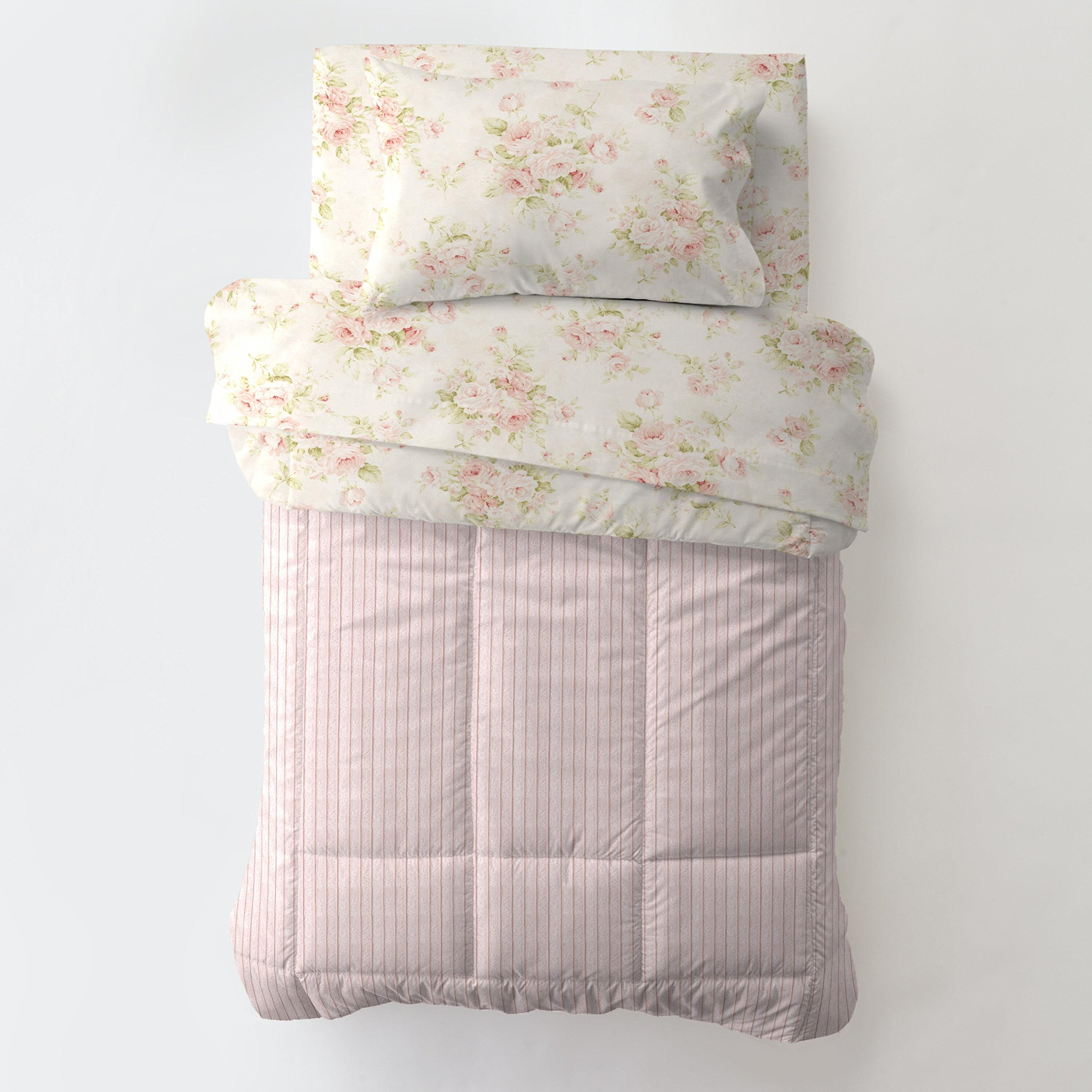 Carousel Designs Shabby Chenille Toddler Bed Comforter by Carousel Designs