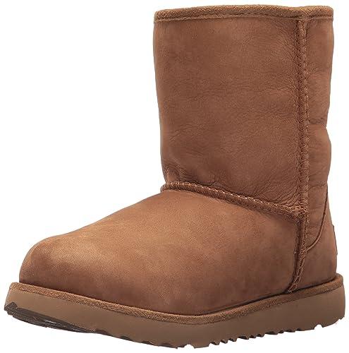 458a4fd52b0 Amazon.com | UGG Kids K Classic Short II WP Pull-on Boot | Boots