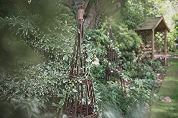 Exceptionnel Forest 1.5 M Concentric Willow Obelisk